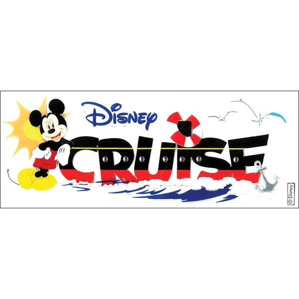 Disney Title Dimensional StickersMickey Cruise