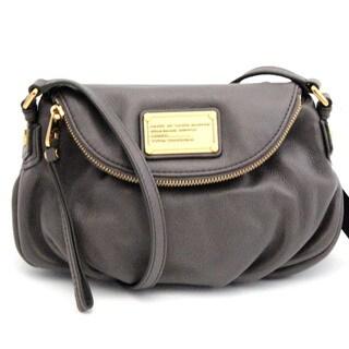 Marc By Marc Jacobs Classic Q Faded Aluminum Mini Natasha Handbag