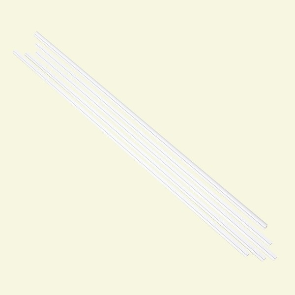 Fasade Backsplash Accessory Kit Gloss White