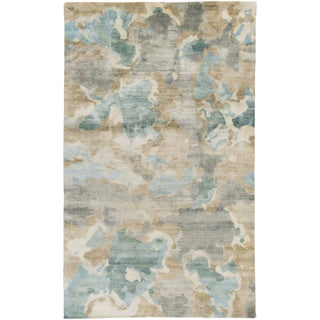 Candice Olson : Hand-Knotted Virgil Abstract Indoor Rug (9' x 13')