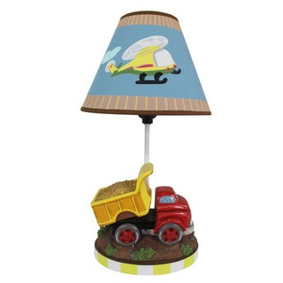 "Fantasy Fields - Transportation Table Lamp, 16.3""H"