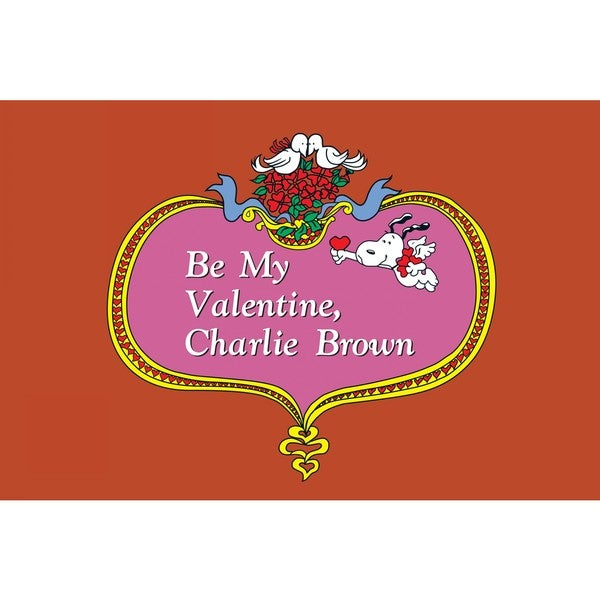 "Marmont Hill - ""Be My Valentine, Charlie Brown"" Peanuts Print on Canvas"