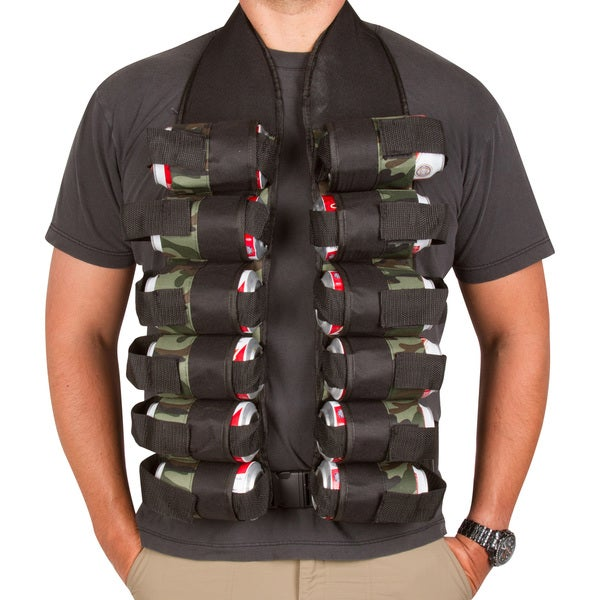 12-Pack Drink Vest by EZ Drinker