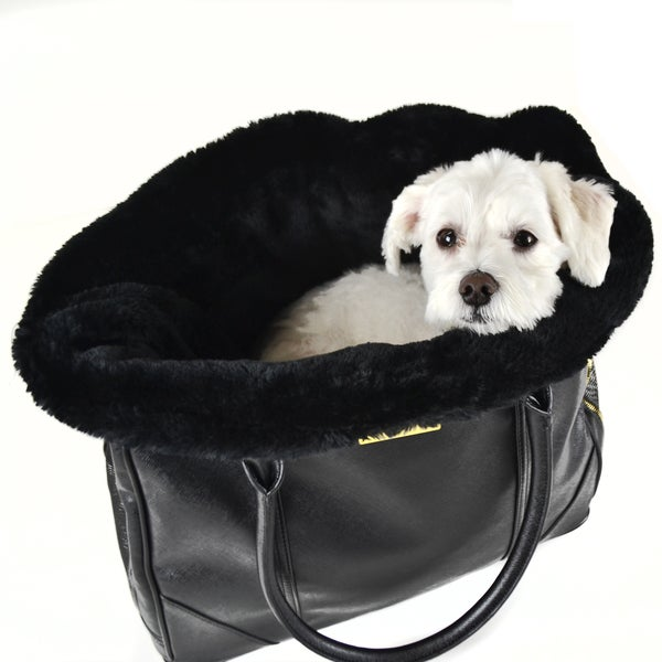 Dogs of Glamour Black Plush Insert
