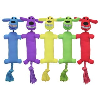 Multipet Loofa Launcher Dog Toy