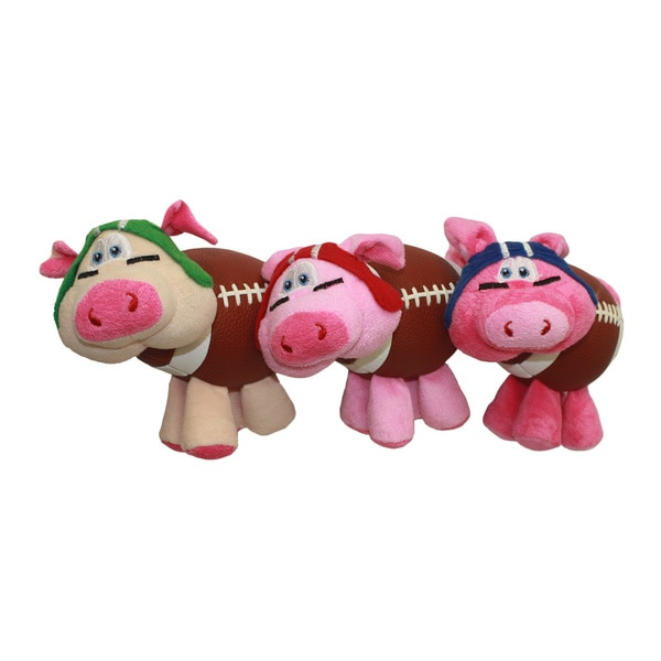 Multipet Pig-Skins Plush Dog Toy