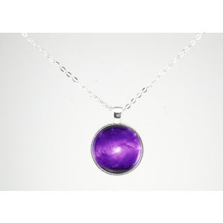 """Be The Envy """"Purple Galaxy"""" Necklace"""