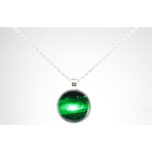"Be The Envy ""Green Galaxy"" Necklace"