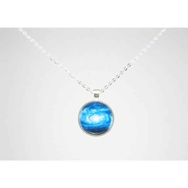 "Be The Envy ""Blue Galaxy"" Necklace"