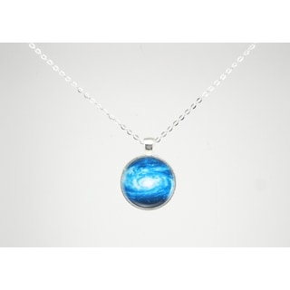 """Be The Envy """"Blue Galaxy"""" Necklace"""