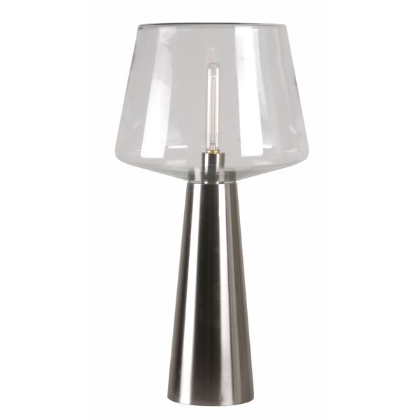 Maize Clear Glass Table Lamp