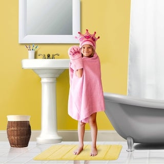 Princess Hooded Wrap forTub Time for Tots