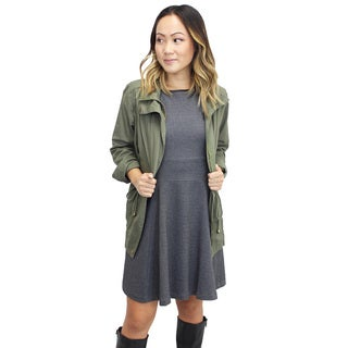 Relished Women's Contemporary Marin County Olive Utility Jacket