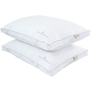 Tommy Bahama Cool Waves 300 Thread Count Down Alternative Pillows (Set of 2)