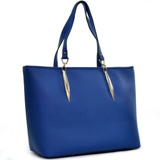 Dasein Large Tote with Accent Hardware