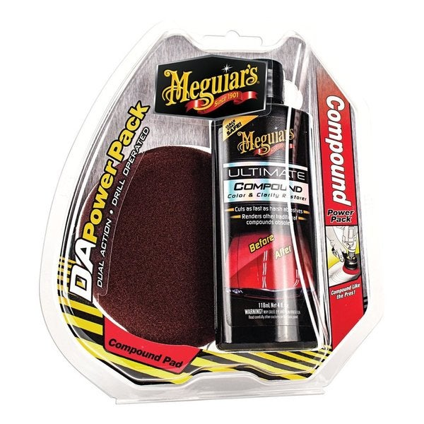 MEGUIAR'S D/A POWER SYSTEM ULTIMATE COMPOUND PAK