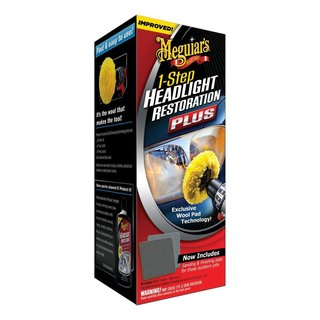 MEGUIAR'S HEADLIGHT RESTORATION KIT (4-pk shipper)