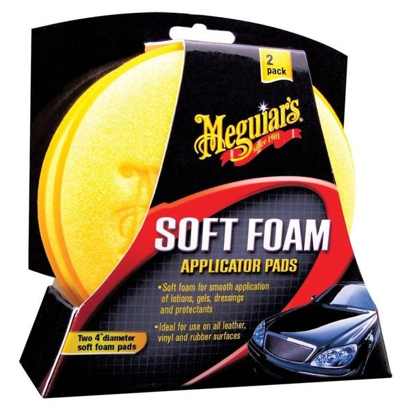 MEGUIAR'S FOAM APPLICATOR PADS
