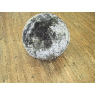 Yoga Ball plus Furry Gray Cover