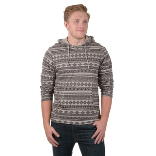 Vance Co. Men's Pull-over Long Sleeve Aztec Print Hoodie