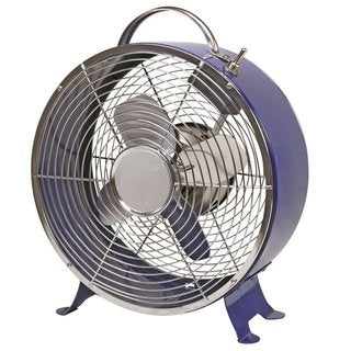 Comfort Zone High Velocity Fan Quiet Operation Cooling Air (Set of 4)