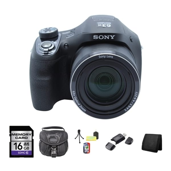 SONY DSC-H400 CAMERA 16 GB Bundle