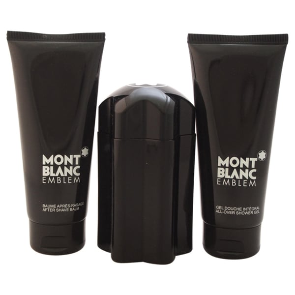 Mont Blanc Emblem by Montblanc Men's 3-piece Gift Set