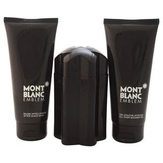 Mont Blanc Emblem by Montblanc Men's 3-piece Gift Set