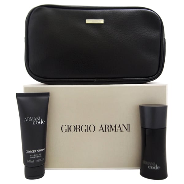 Armani Code by Giorgio Armani Men's 3-piece Gift Set
