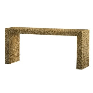 Sunpan Ikon Arch Contemporary Wood Console Table