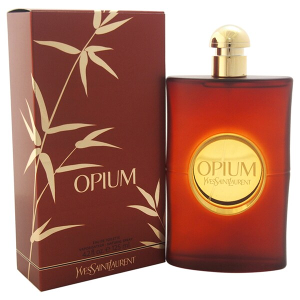Yves Saint Laurent Opium Women's 4.2-ounce Eau de Toilette Spray