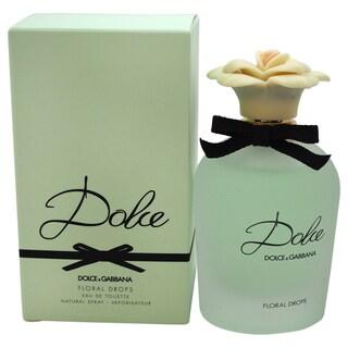 Dolce & Gabbana Dolce Floral Drops Women's 2.5-ounce Eau de Toilette Spray