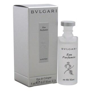 Bvlgari Au The Blanc Women's 0.17-ounce Eau de Cologne Splash (Mini)