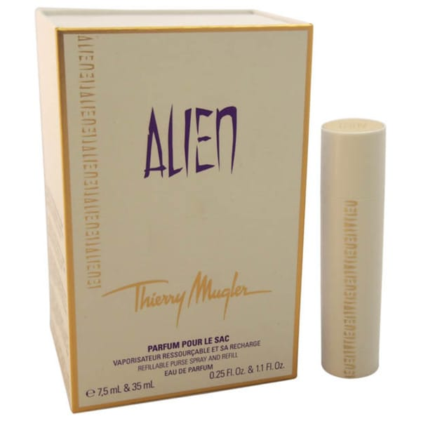 Thierry Mugler Alien Women's Eau de Parfum Spray (Refillable Purse Spray And 1 Refill)