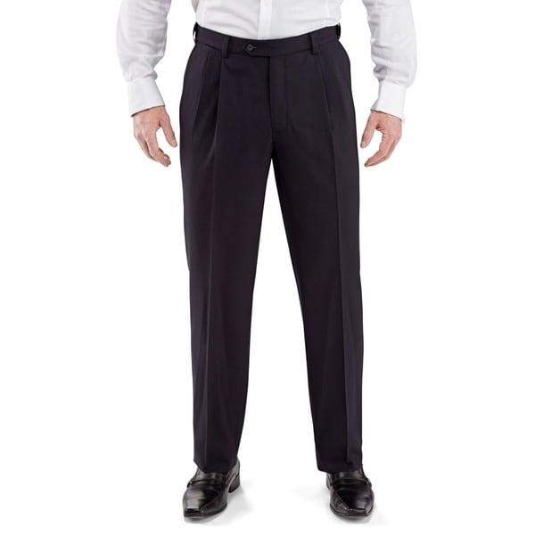Men's Pleated Front Dress Pants