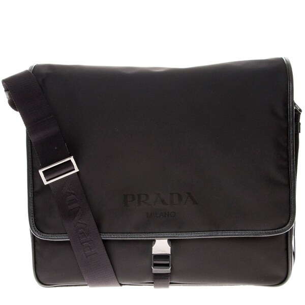 Prada Large Nylon Shoulder Messenger