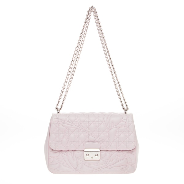 Christian Dior Miss Dior Quilted Flower Shoulder Bag