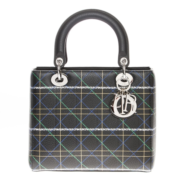 Christian Dior Lady Dior Printed Handbag