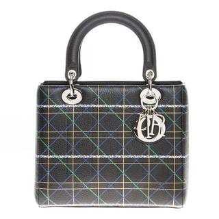 Christian Dior Lady Dior Printed Handbag
