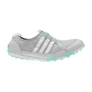Adidas Women's Climacool Ballerina Clear Grey/ White/ Bahia Mint Golf Shoes