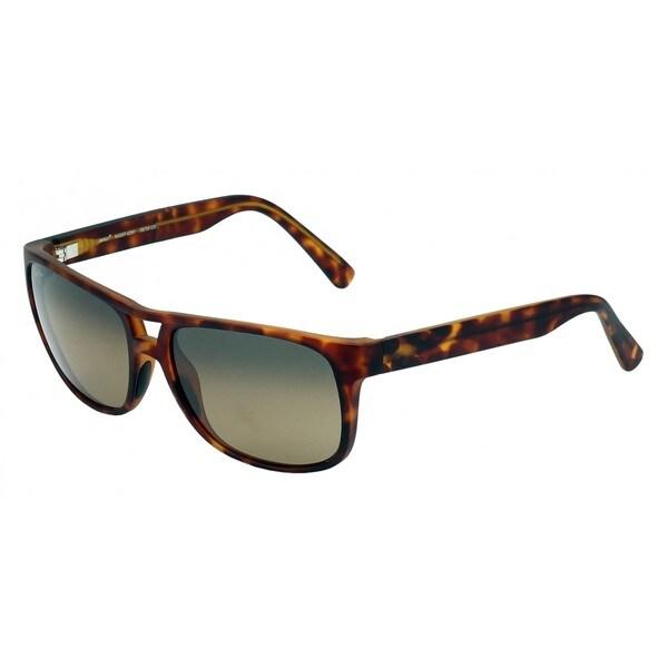 Maui Jim HS267 10mm Polarized Brown Lenses Tortoise Frame Sunglasses