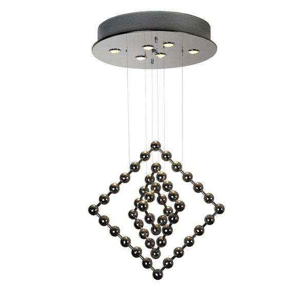 Spin Stainless Steel Chandelier