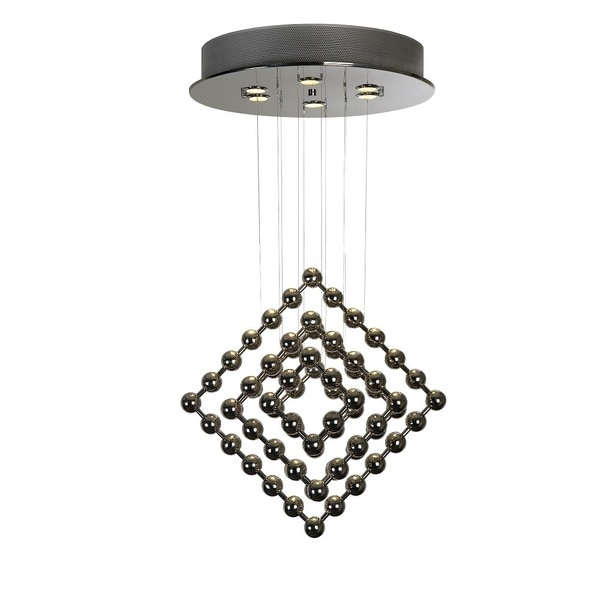 Surreal Stainless Steel Chandelier