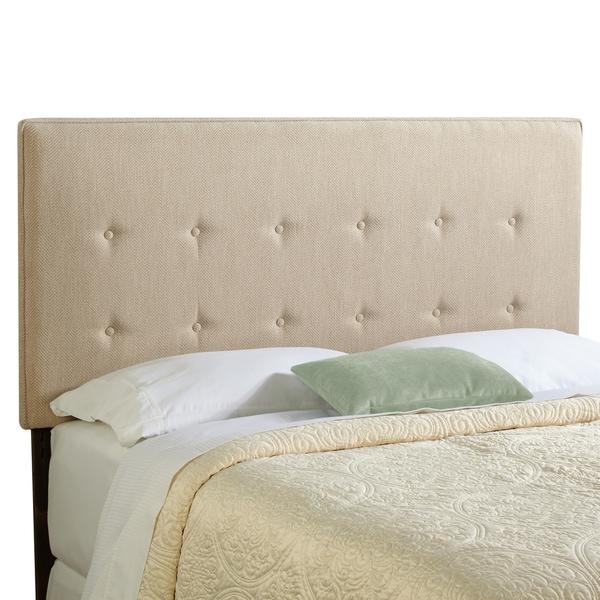 Humble + Haute Brighton King Size Light Sage Green Upholstered Headboard