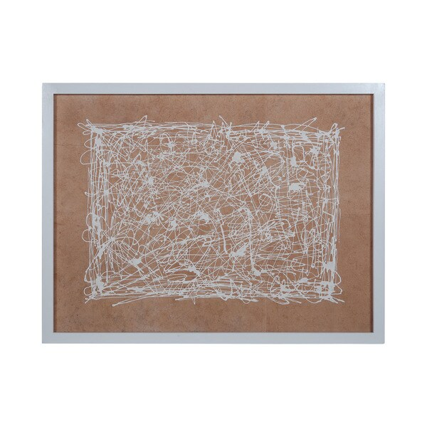 Dimond Home White Noise Framed Wall Art