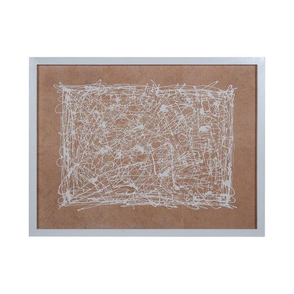 Dimond Home White Noise Framed Wall Art
