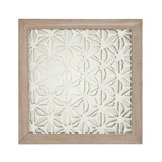 Dimond Home Natural Fibers On Foil Wall Decor