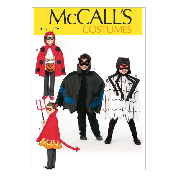 Children's/Boys'/Girls' Costumes-All Sizes In One Envelope