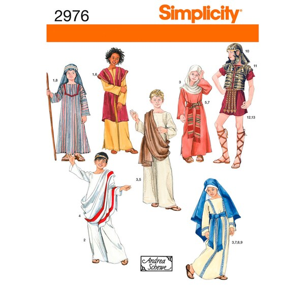 Simplicity Boys And Girls Costumes-XS,S,M,L