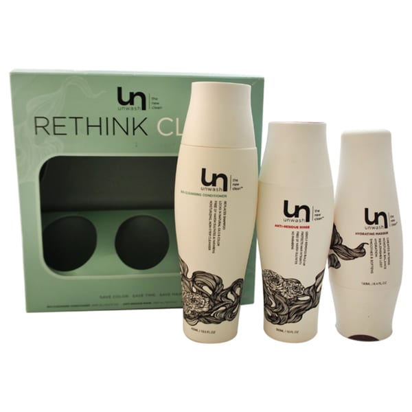 Unwash Rethink Clean 3-piece Kit